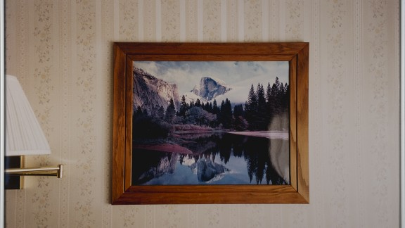 Landscape with Mountain Lake, 2003 Chromogenic print, glass, metal frame, 50,5 x 75,5 cm